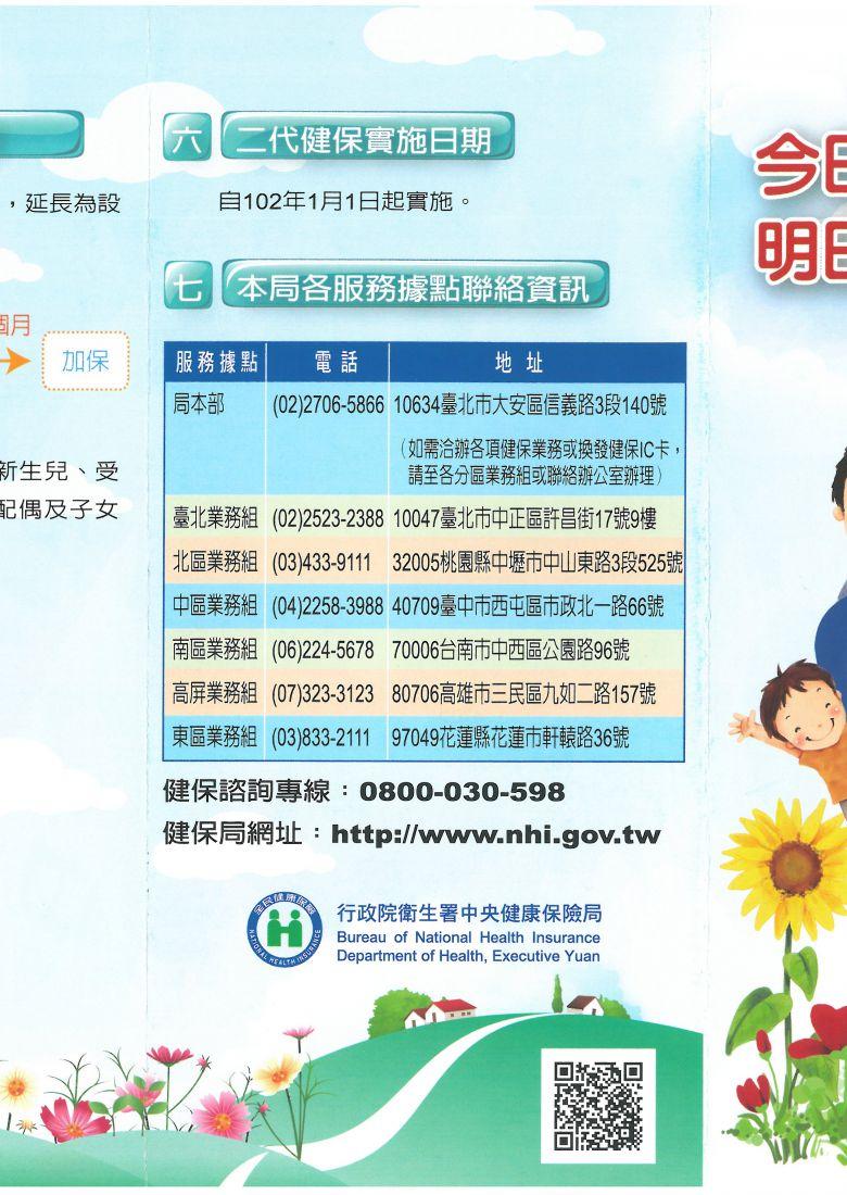今日您支持健保,明日健保照顧您(摺頁)_頁面_1