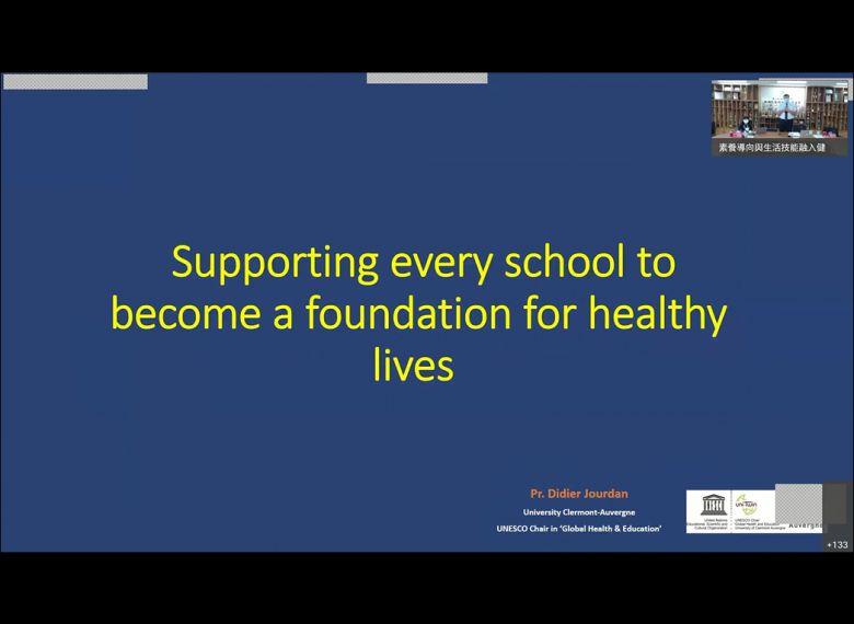 6月28日:支持每個學校成為促進健康生活的基礎Supporting every school to become a foundation for healt